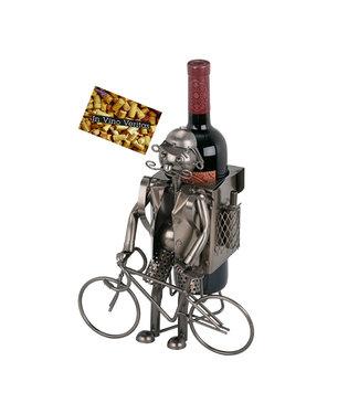 Wijnfleshouder Fiets