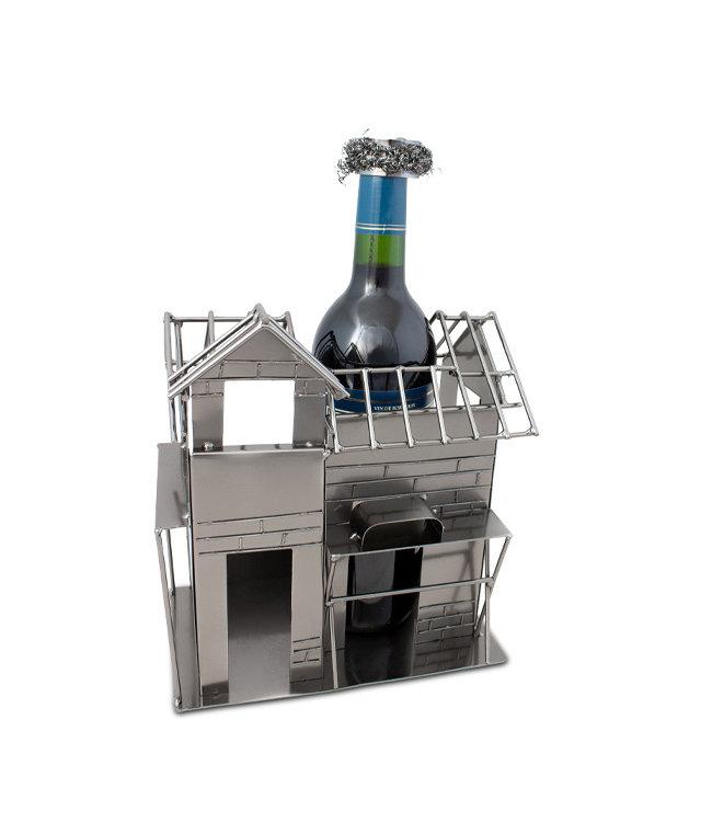 Wijnfleshouder Huis