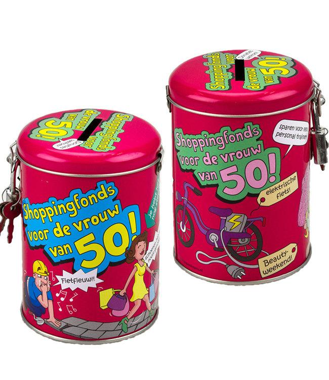 Spaarpot 50 jaar Shoppingfonds