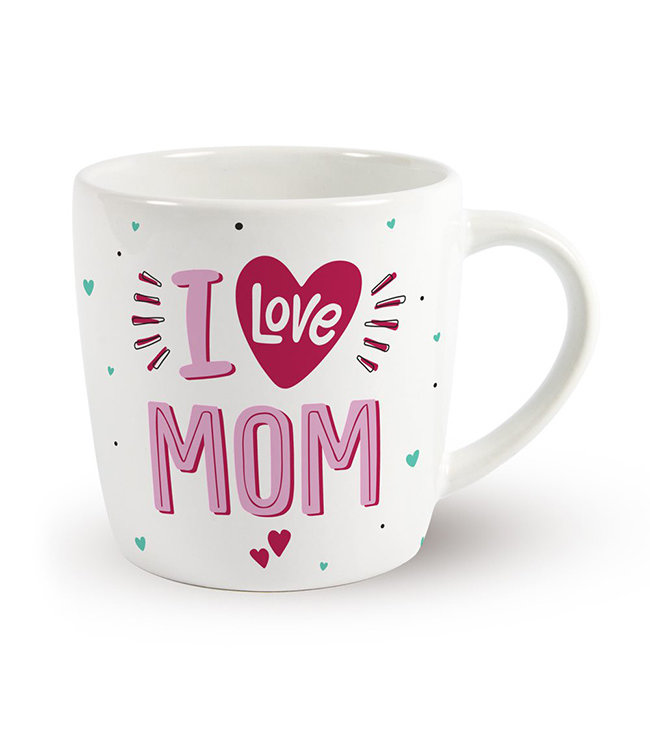 Moeder Mok I Love Mom