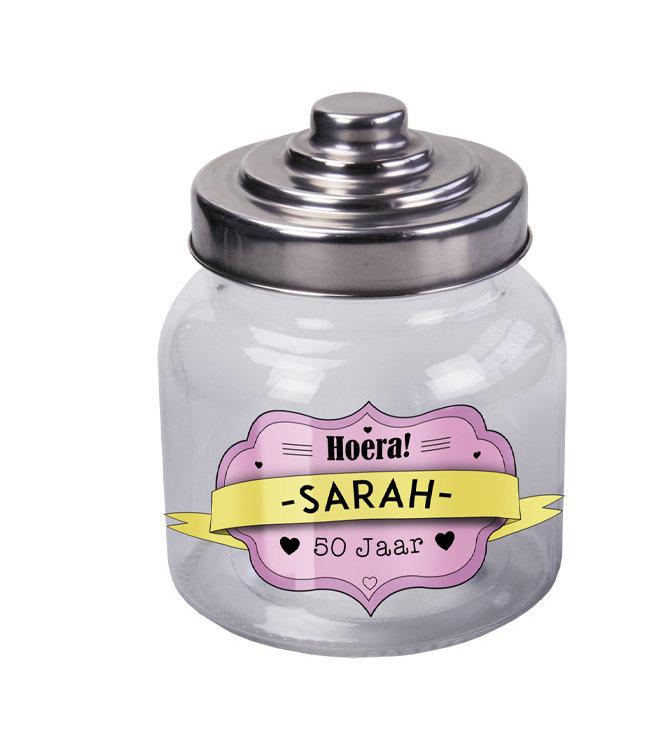 Snoeppot Sarah