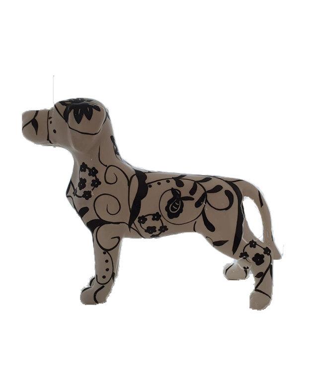 Hond Met Bloemenpatroon xl