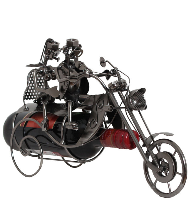 Wijnfleshouder Motor Chopper