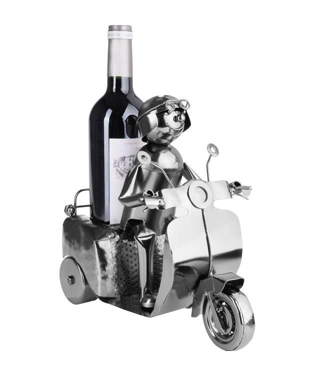 Wijnfleshouder Scooter