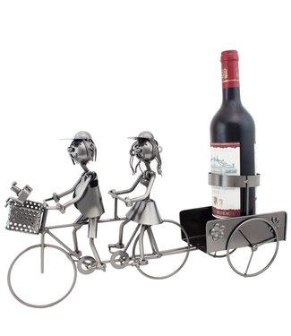Wijnfleshouder Tandem