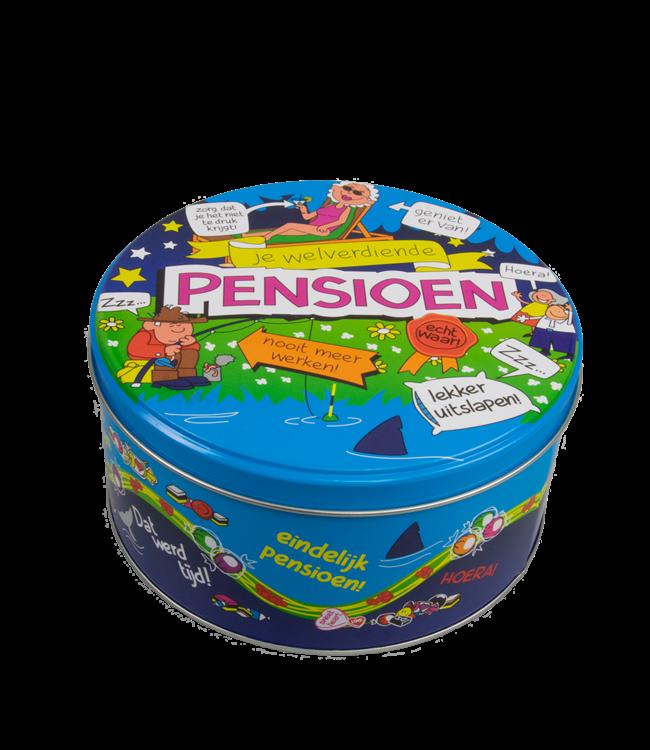 Snoep- en/of Koektrommel Pensioen