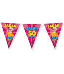 Party Vlaggen - Sarah cartoon
