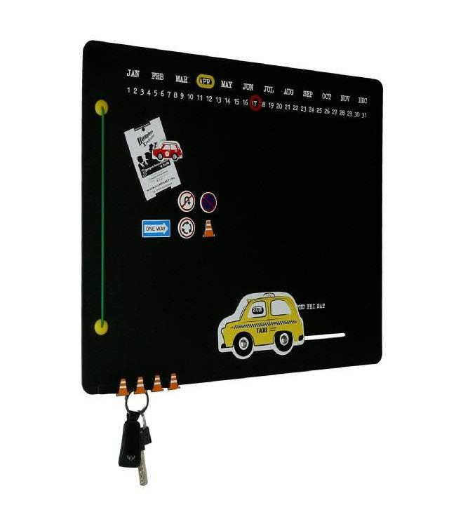 KolorCoolkit Magneetbord Yellow Taxi