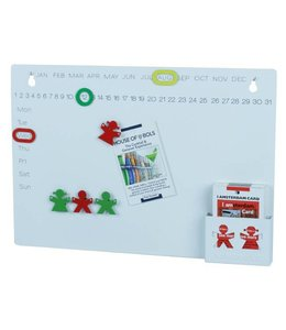 KolorCoolkit Magnetisch notitiebord Boy & Girl Wit
