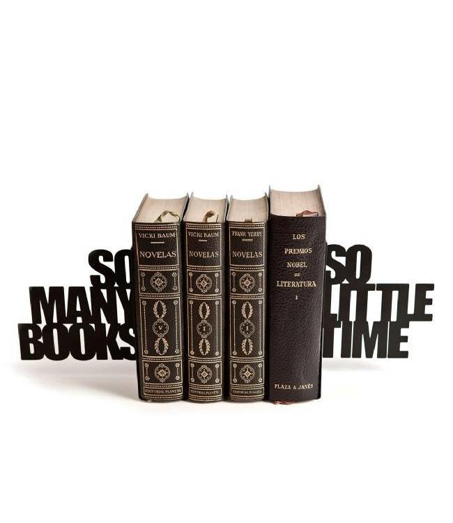 Boekensteun So many books So little time