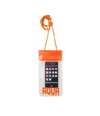 Waterdichte hoes voor je mobiele telefoon - oranje
