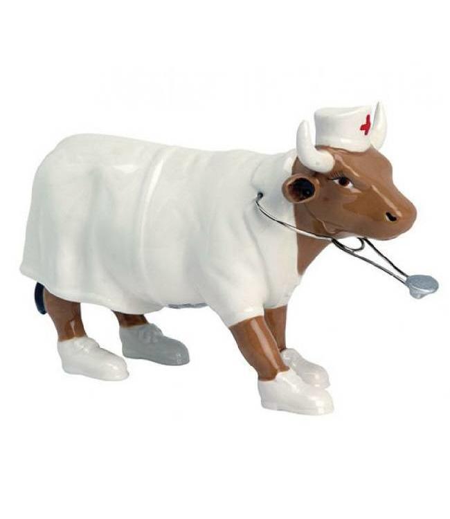 CowParade Cow Parade Nurse Nightencow (medium)