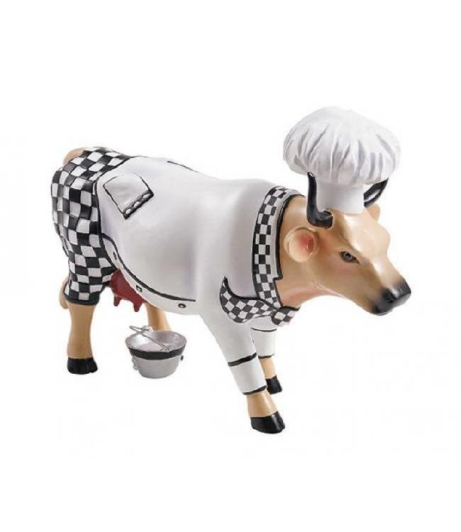 CowParade Cow Parade Chef Cow (medium)