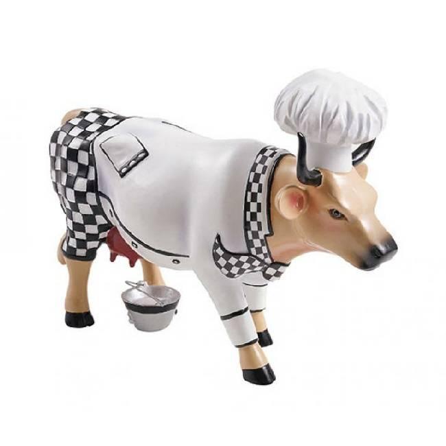 Cow Parade Chef Cow (medium)