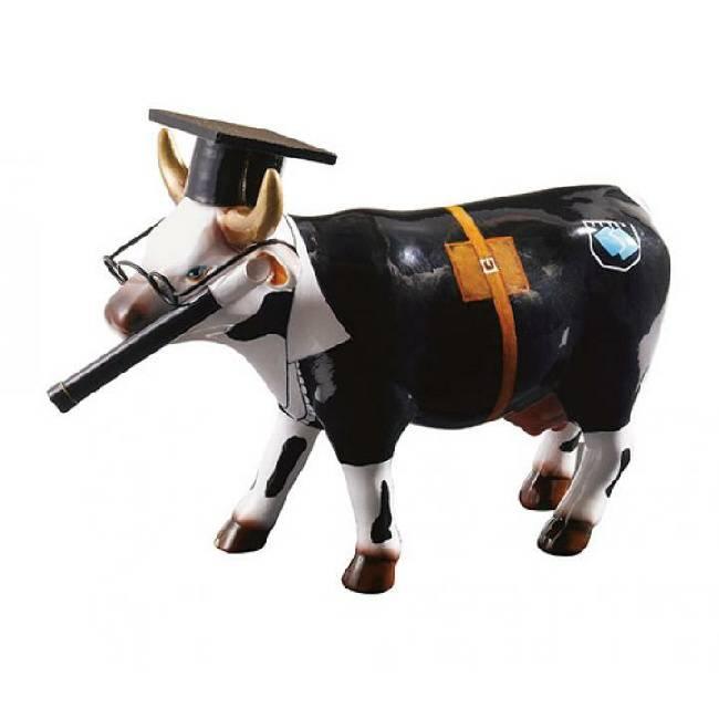 Image of Cow Parade Cow Doutora (medium keramiek) 4040491473828