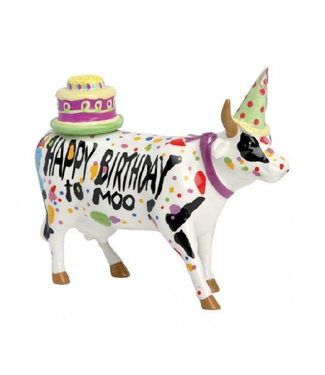 CowParade Cow Parade Happy Birthday to Moo (medium)