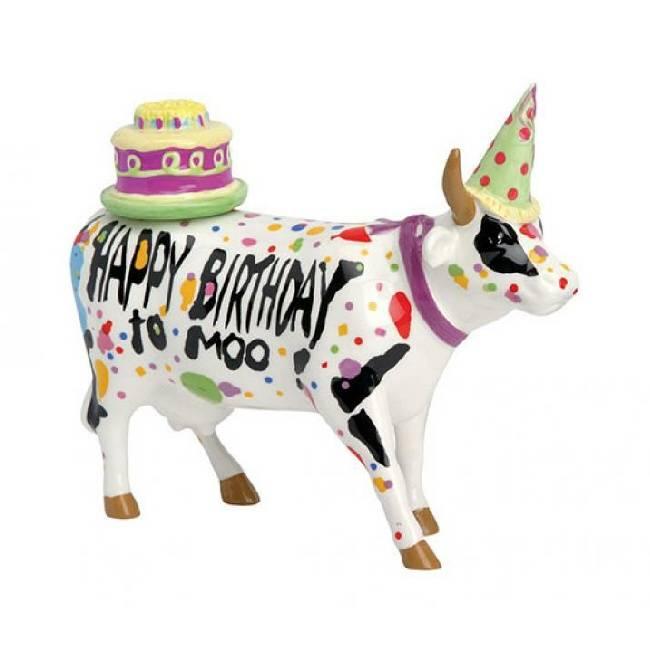 Cow Parade Happy Birthday to Moo (medium)