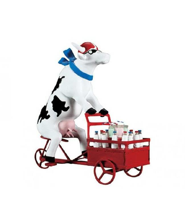 Cow Parade Lait triporteur (medium)