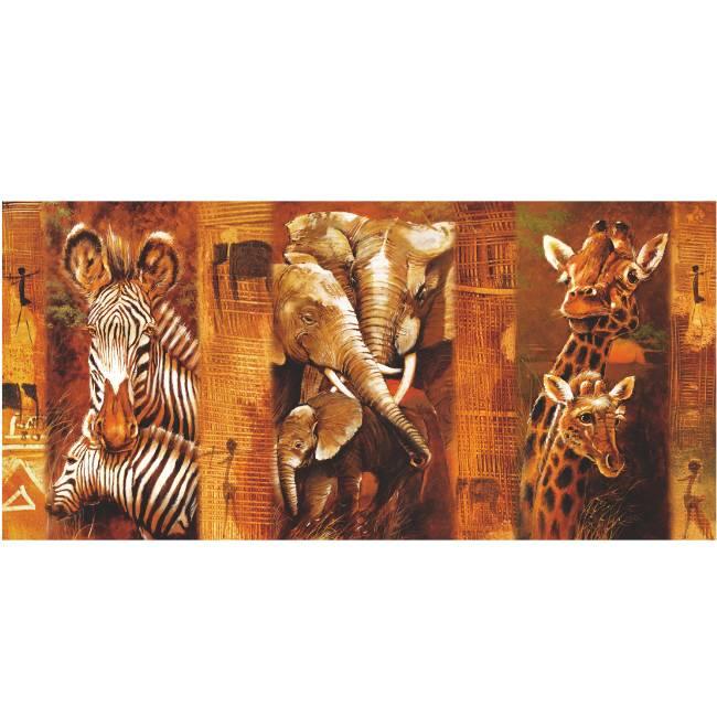 Kunstzinnige Ingelijste Posters: Wilde Dieren
