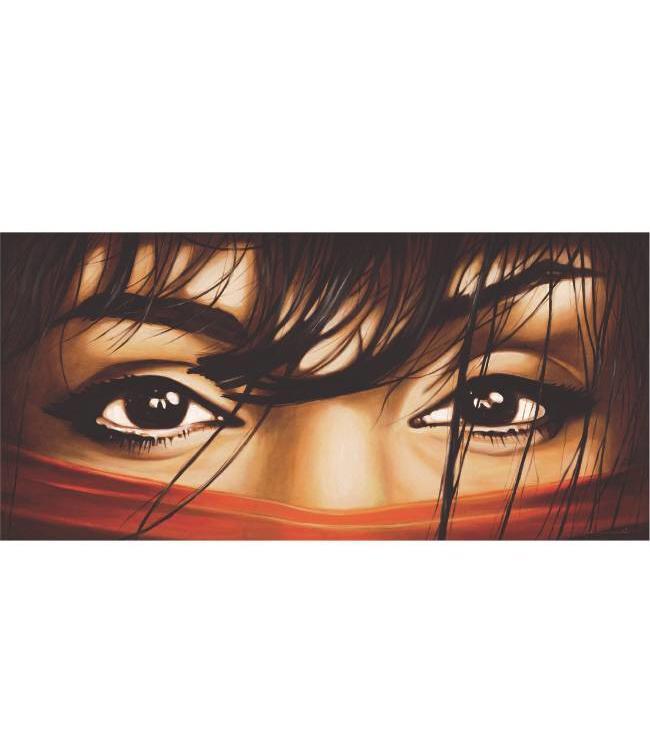 Ingelijste Posters: Arabische Vrouwen ogen