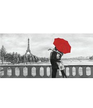 Ingelijste Posters: Romantiek in Parijs