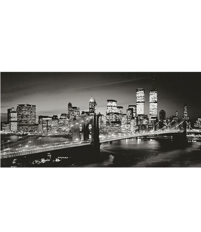 Ingelijste Posters: New York by Night