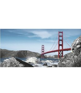 Ingelijste Posters: San Francisco Golden Gate Bridge
