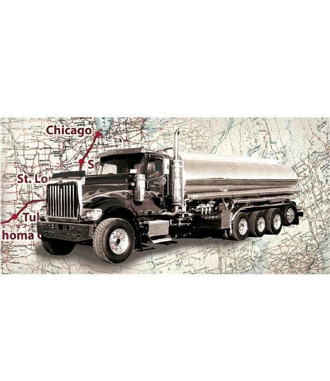 Ingelijste Posters: Route 66 Truck