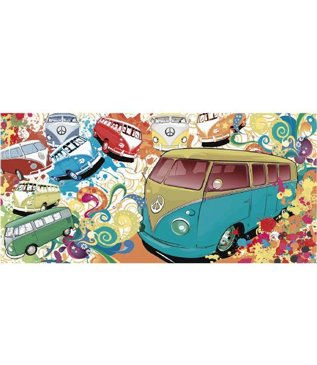 Kunstzinnige Ingelijste Posters: Volkswagen Kevers Popart