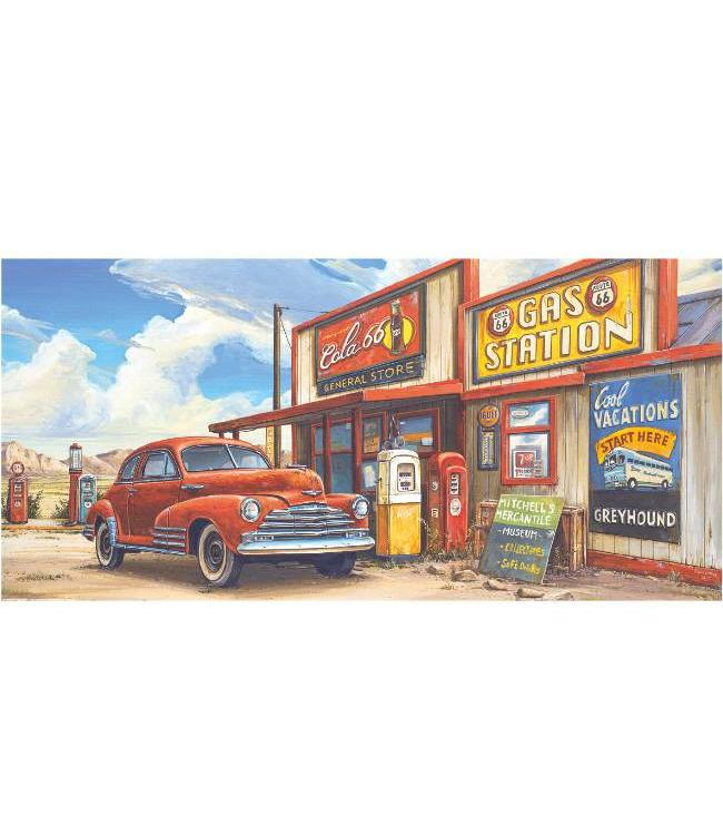 Ingelijste Posters: Route 66 Gas Station Museum