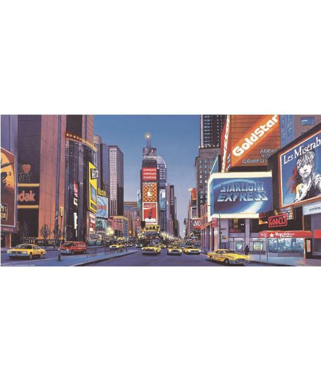 Kunstzinnige Ingelijste Posters: New York Times Square