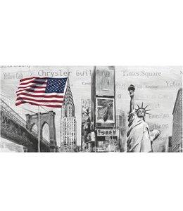 Ingelijste Posters: New York Highlights