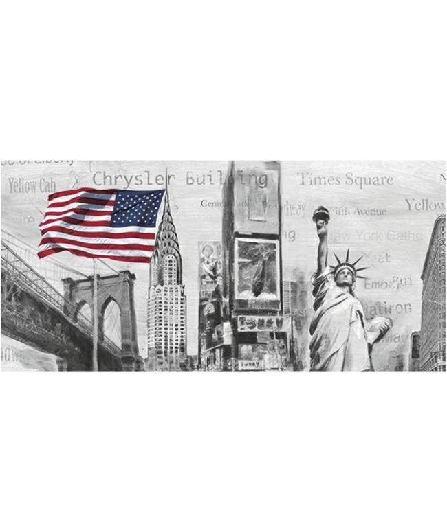 Kunstzinnige Ingelijste Posters: New York Highlights