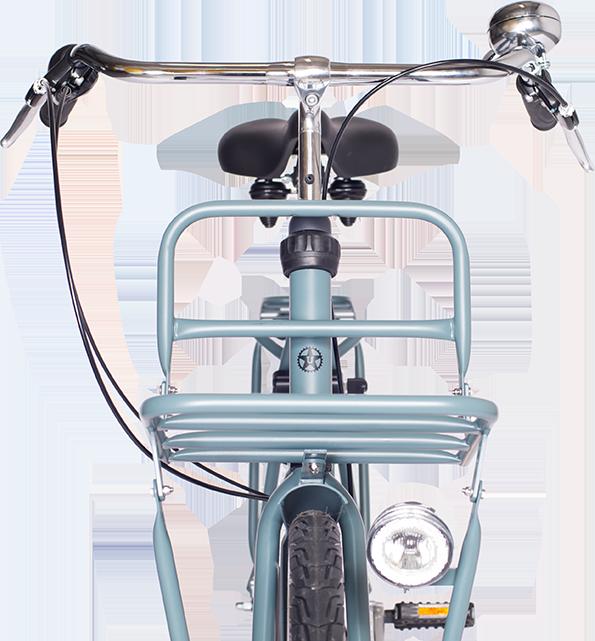 load bike front