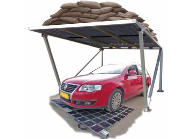 * Solar Carport`s vrijstaand
