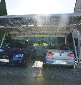 Aluminium  Solar carport 5.17 x 3,5 meter
