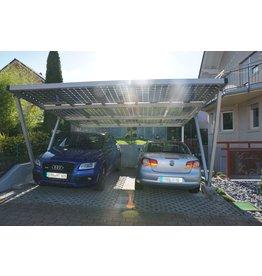 Aluminium  Solar carport 5 x 3,5 meter