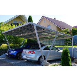 Aluminium  Solar carport 6 x 3,5 meter