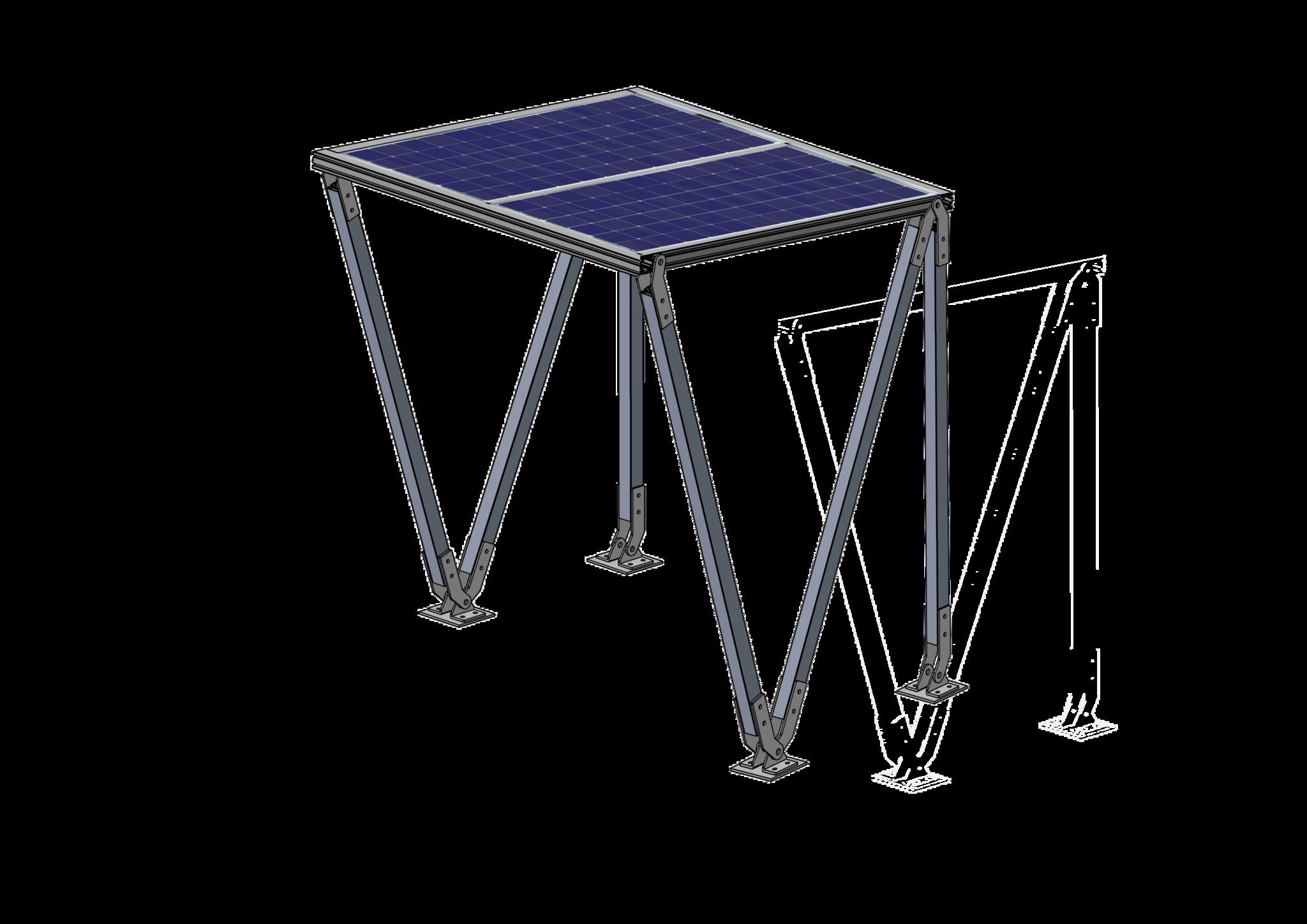 Solar Fietsenstalling  Lea 2