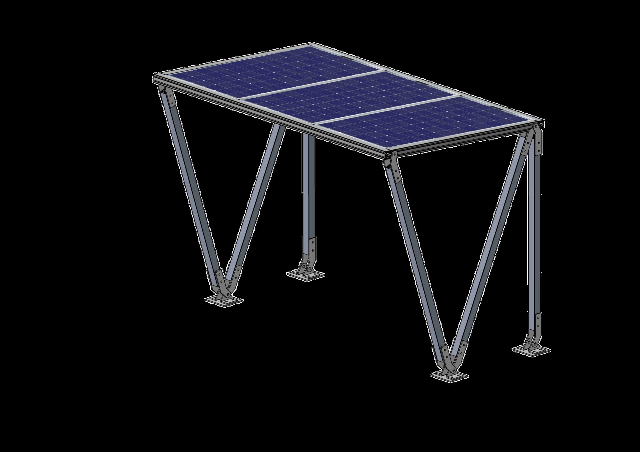 Solar Fietsenstalling  Lea 3