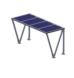 Solar Fietsenstalling Lea 4