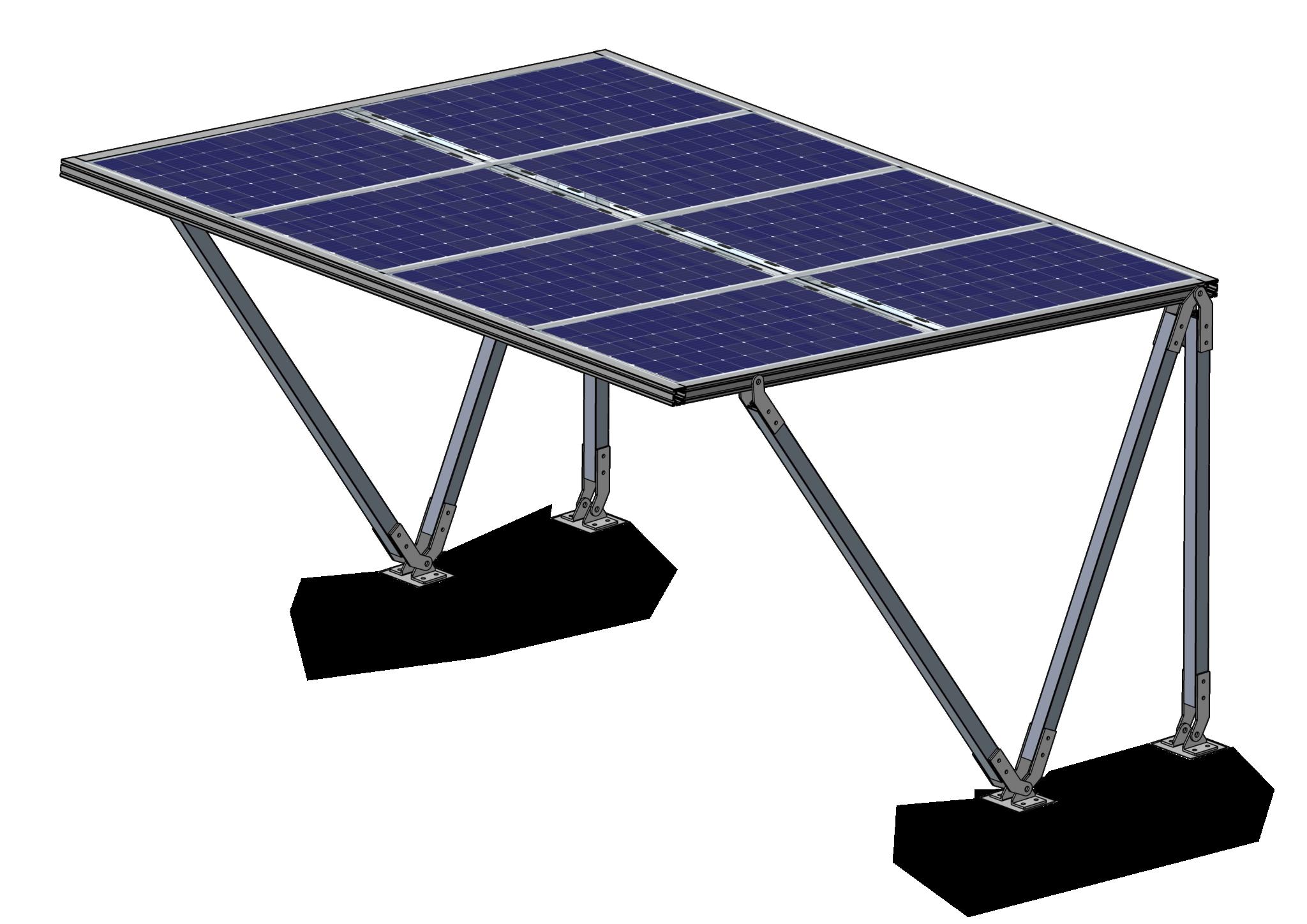 Solar Fietsenstalling Eva 4