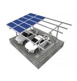 Maat carport Aluminium