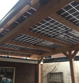 Solar Carport 3118 x 3480 ( bouwpakket )