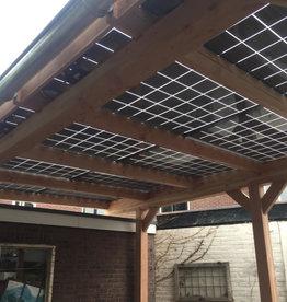 Solar Carport 4138  x 3480 ( bouwpakket )