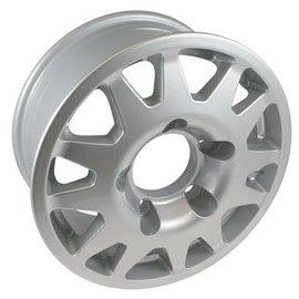 TF104 Dakar Wheel Silver
