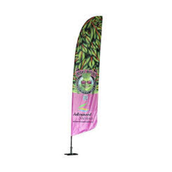 Beachflag 60 x 195 cm.