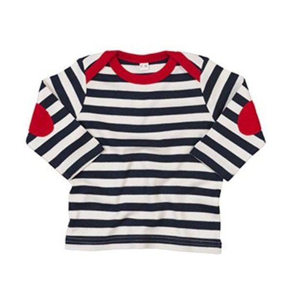 Baby t-shirt lange mouw min. afname 25 stuks