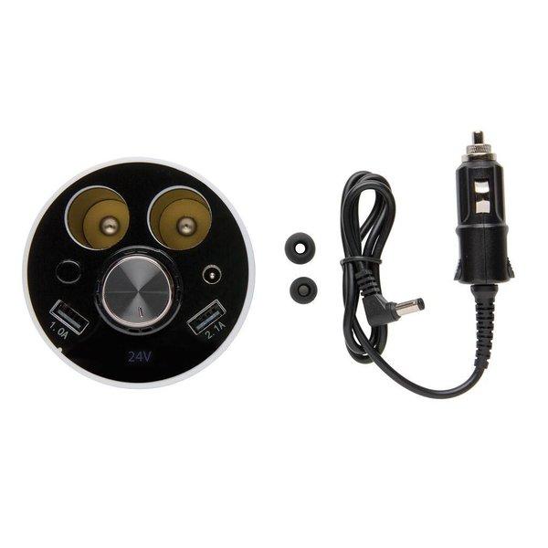 Auto oplaadbeker met draadloze oortelefoon