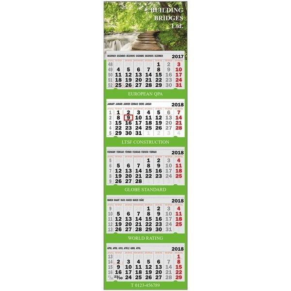 5 maand kalender